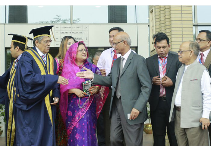 World University of Bangladesh VC Photo Gallery1, Plot # 3/A, Road # 4, Dhanmondi, Dhaka-1205