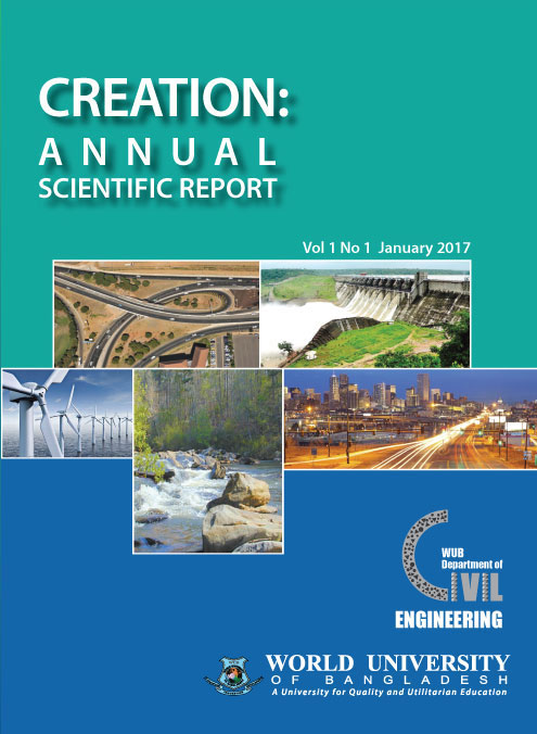 Creation: Annual Scientific Report